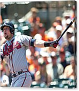 Chris Johnson Acrylic Print