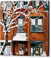 Christmas In Toronto Acrylic Print