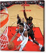 Clint Capela and Donovan Mitchell Acrylic Print
