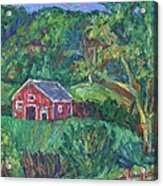 Clover Hollow in Giles County Acrylic Print