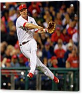 Cody Asche and Tucker Barnhart Acrylic Print