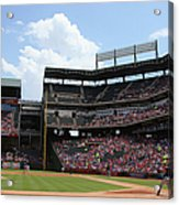 Colby Lewis and Trevor Plouffe Acrylic Print