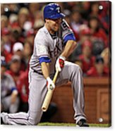 Colby Lewis Acrylic Print
