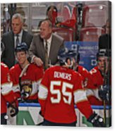 Columbus Blue Jackets v Florida Panthers Acrylic Print