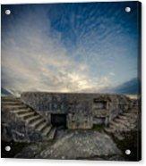 Concrete Defence Acrylic Print