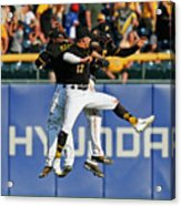 Corey Dickerson and Starling Marte Acrylic Print