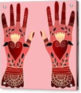 Creative Hands Acrylic Print