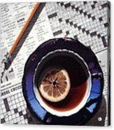 Crossword Acrylic Print
