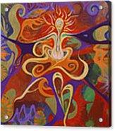 Dance Of Color Acrylic Print