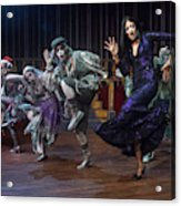 Dance With The Relatives  Acrylic Print