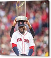 David Ortiz and Pedro Martinez Acrylic Print