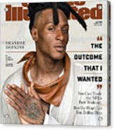 DeAndre Hopkins, May 2020 Sports Illustrated Cover Acrylic Print
