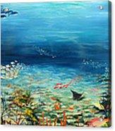 Deep Blue Dreaming Acrylic Print