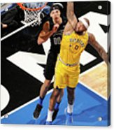 Demarcus Cousins and Aaron Gordon Acrylic Print