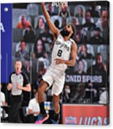 Denver Nuggets v San Antonio Spurs Acrylic Print