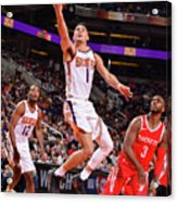 Devin Booker and Chris Paul Acrylic Print