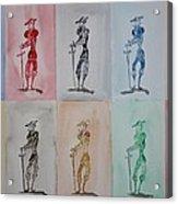 Don Quijote La Pluralista Acrylic Print