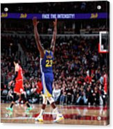 Draymond Green and Klay Thompson Acrylic Print