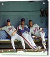 Dwight Gooden, Darryl Strawberry, and Lenny Dykstra Acrylic Print