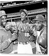 Dwight Gooden, Darryl Strawberry, and Mike Tyson Acrylic Print