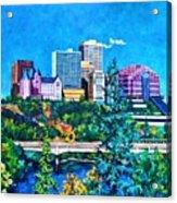 Edmonton MacDonald Hotel Acrylic Print