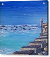 El Morro Fortress Acrylic Print