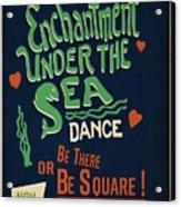 Enchantment Under The Sea Acrylic Print