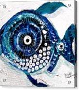 Enter The Icehole Fish Acrylic Print