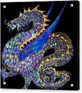 Fancy Dragon 7333 Acrylic Print