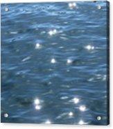 Flickering Water Fairies Acrylic Print