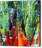 Forest Summer Rain Acrylic Print