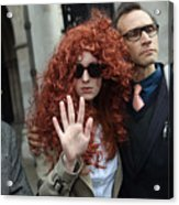 Former Chief Executive Of News International Rebekah Brooks Gives Evidence To The Leveson Inquiry Acrylic Print