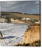 Freshwater Bay panorama Acrylic Print
