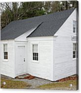 Friends Meetinghouse - Casco Maine Acrylic Print