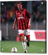FUSSBALL: italienische Liga 97/98 AC MAILAND 28.07.97 Acrylic Print
