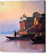 Ganges at Dawn Acrylic Print
