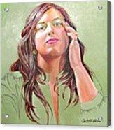 Gena Acrylic Print