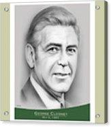 George Clooney birthday Acrylic Print