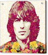 George Harrison Artwork, The Beatles Art, George Harrison Poster Acrylic Print