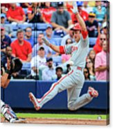 Gerald Laird and Chase Utley Acrylic Print