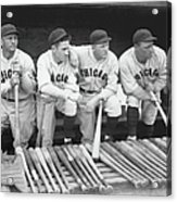 Hack Wilson and Rogers Hornsby Acrylic Print