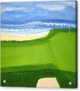 Hawaiian Golf Acrylic Print