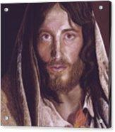 Heart of Jesus Pastel by Miriam Kilmer Acrylic Print