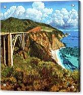 Highway 1 Bridge Acrylic Print