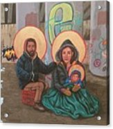 Holy Family of the Streets  Acrylic Print