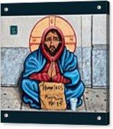 Homeless Christ Acrylic Print