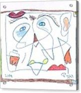 Hommage At Joan Miro Acrylic Print