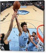 Houston Rockets v Memphis Grizzlies Acrylic Print