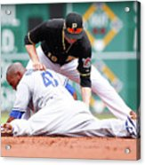 Howie Kendrick and Neil Walker Acrylic Print