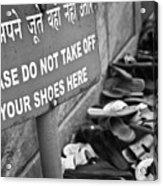 I love India !   Acrylic Print